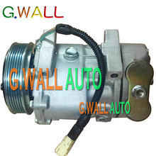 7V16 AC Compressor For Car Peugeot 206 306 406 806 607 807 Citroen C5 C8 1993-2004 9645306580 9626902180 6453CL