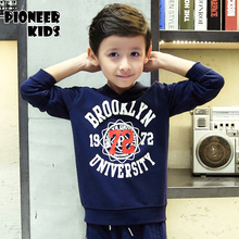 Pioneer Kids Safety Children's Boy's Hoodies & Sweatshirts Spring Autumn 2016 New Fashion Outwear Coat Kid's Clothing Outfit