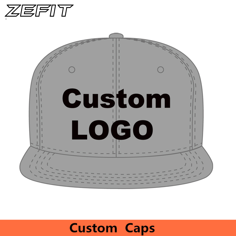 Wholesale Baseball caps Design Snapback Embroidery Print Your Logo Small order hip hop Dancers Team Hats