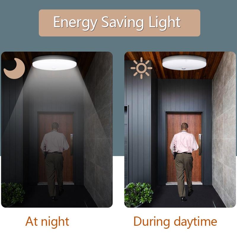 人体感应吸顶灯节能