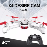 Hubsan X4 H502E Cam Drone with 720P HD Camera GPS Altitude Mode RC Quadcopter RTF Remote Control Camera Helicopter