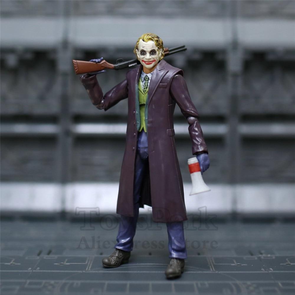 "Neca The Joker Heath Ledger DC Comics Batman Dark Knight 7/"" PVC Action-Figur"