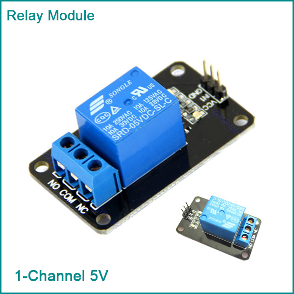 5V One 1 Channel Relay Module Board Shield  For PIC AVR DSP ARM  MCU For Arduino