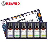 Essential Oil For Diffuser Aromatherapy Oil Humidifier 6 Kinds Fragrance Of Lavender Tea Tree Rosemary Lemongrass