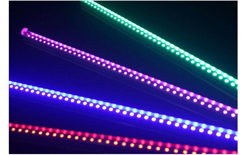 Toika 100pcs/lot 5ft 50W 1500MM T8 LED v-shaped Tube Ligh 1.5m red green blue colorful tube AC85-265V