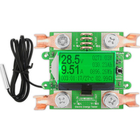 AC 300V 100A Accurate Energy Meter Voltage Current Power Voltmeter Ammeter Greem Backlight Overload Alarm Function