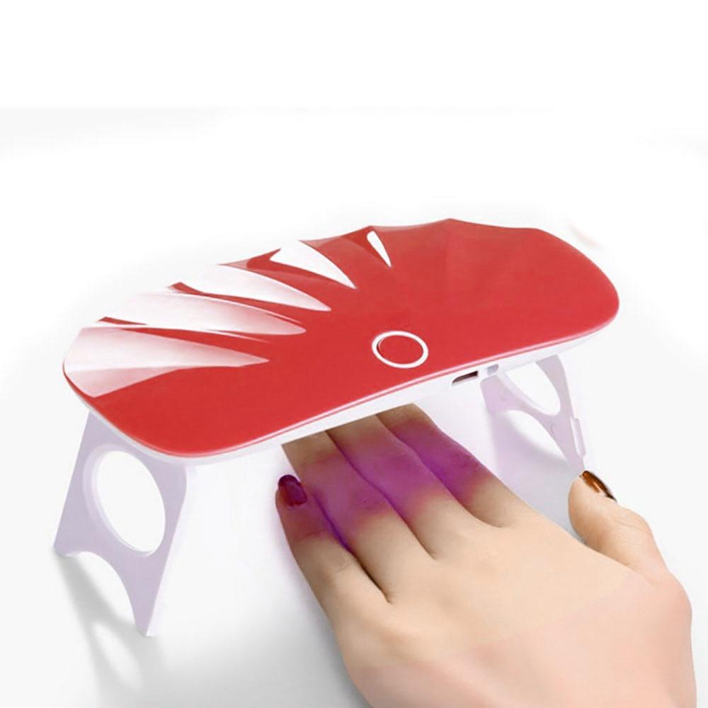 Mini Usb Uv Nagel Gel Aushärtelampe Licht Nagelgelpoliermittel Trockner Nail Art Maschine Zubehör Nageltrockner