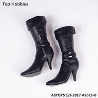 1/6 ASTOYS AS023 female doll and a half high boots High heels steel reinforced plastic bags ferrite are available from stock