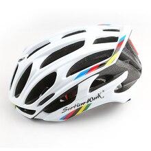 Велосипедный шлем горный светодиодный