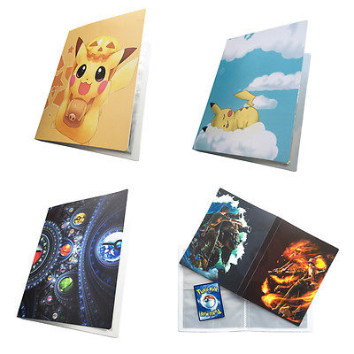 faroot Pikachu Collection gift Book cards holder album