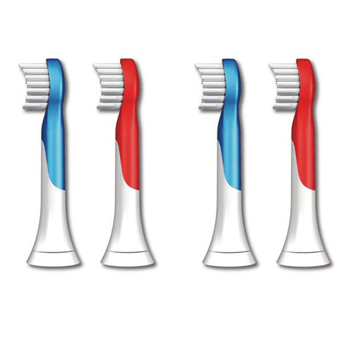 (4-pack) Child Electric Toothbrush Heads for Philips Sonicare Kids HX6311 HX6032 HX6033 HX6034 HX6431/HX6150/HX6411, Ages 4-7(4-pack) Child Electric Toothbrush Heads for Philips Sonicare Kids HX6311 HX6032 HX6033 HX6034 HX6431/HX6150/HX6411, Ages 4-7
