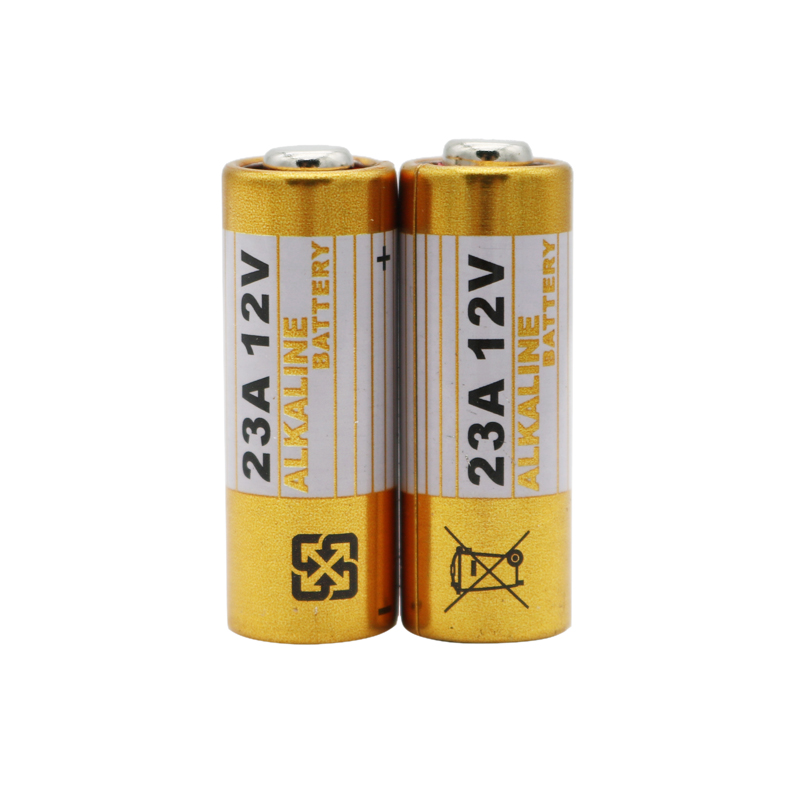 2pcs 23A <font><b>12V</b></font> Dry <font><b>Battery</b></font> L1028 <font><b>A23</b></font> A-23 RV08 MN21 Alkaline Electronic <font><b>Battery</b></font> for Doorbell Car Alarm Walkman Car Remote Control image