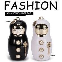 New Design Fashion Clutch Bags Evening Bags Women Shoulder Messenger Bag Wedding Party Handbags Wallets Casual Acrylic Bags цена