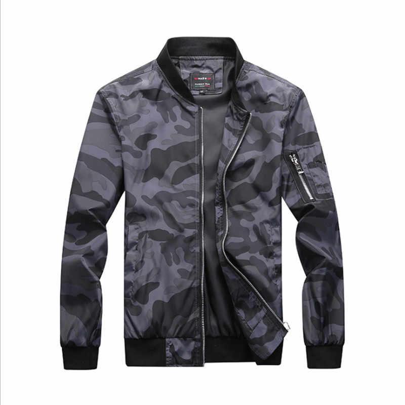 Весенне-осенние мужские куртки с капюшоном камуфляжные жакеты в стиле милитари повседневная мужская ветровка на молнии брендовая мужская одежда