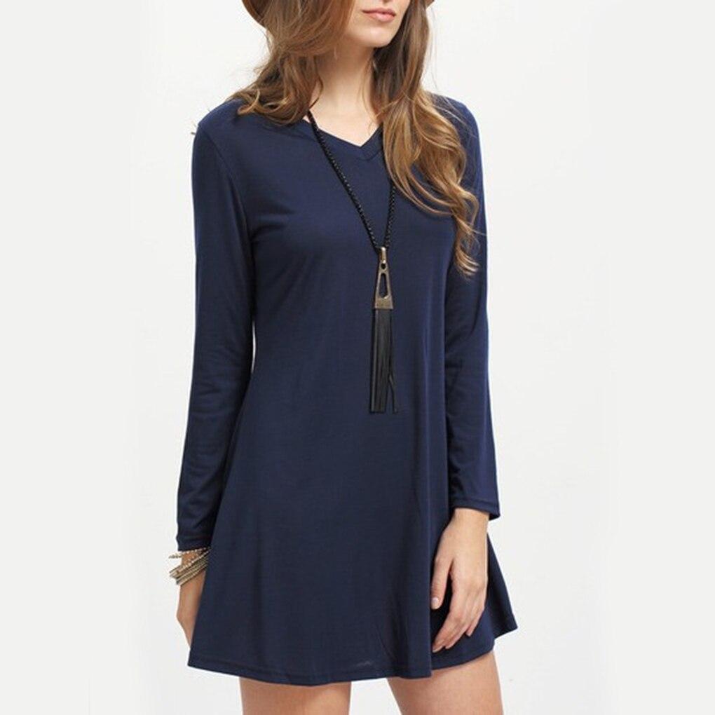 Popular Navy Blue Cotton Dress-Buy Cheap Navy Blue Cotton Dress ...