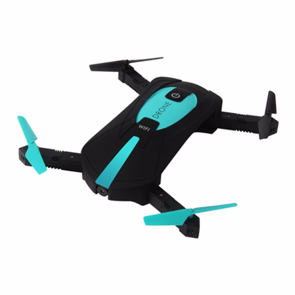 RC Helicopter JY018 Elfie Mini Foldable Selfie Pocket Drone Wifi Phone Control Quadcopter with 2MP Wifi HD Camera