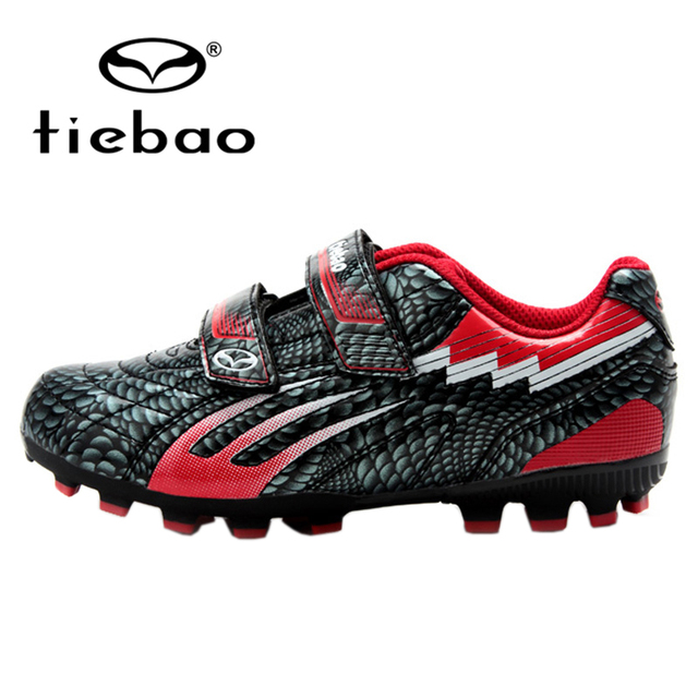 a2191d3a7b0 TIEBAO Professional Boys FG   HG   AG Soled Training Football Boots Outdoor Soccer  Shoes Children