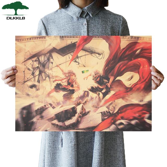 Tokyo Ghoul Vintage Anime Movie Poster