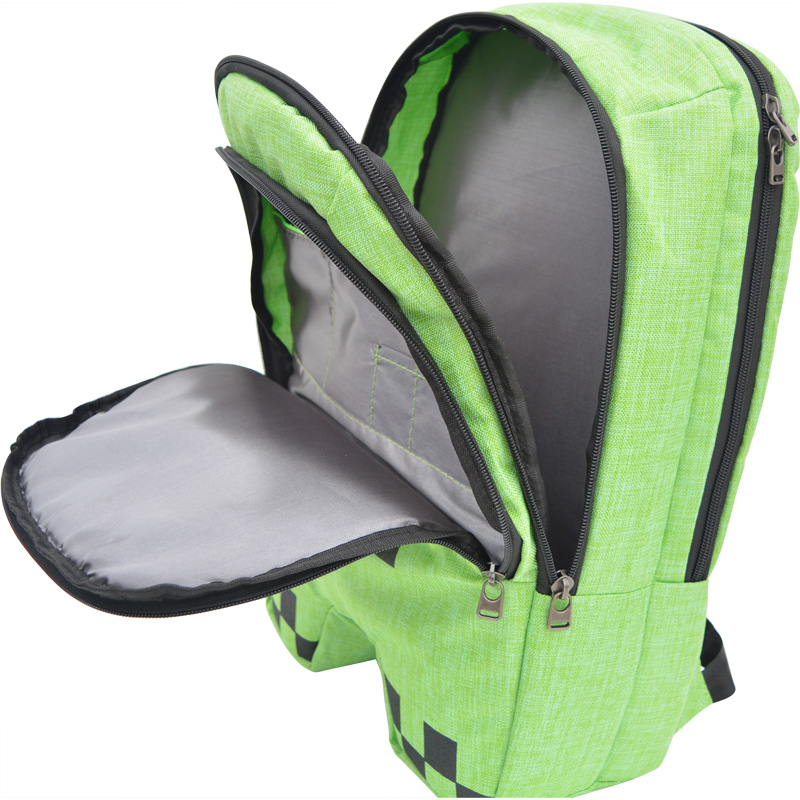 Backpack Minecraft Mochila-Schoolbag Daily Welcome Girls Children Wholesale Cartoon Primary