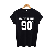 Made In The 90s Women Hipster Tops Graphic Tees Wom