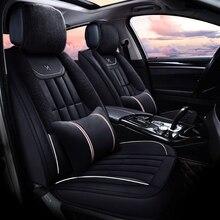 Winter Plush Car Seat Cover Cushion For Infiniti EX25 FX35/45/50 G35/37 JX35 Q70L Series Car pad,auto seat cushion Free Shipping цены