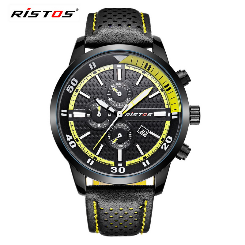 Men Military Watches Top Brand Luxury 30M Waterproof Date Clock Male Leather Strap Casual Quartz Watch Men Sports Wrist Watch men watches top brand luxury 50m waterproof japan quartz sports watch men stainless steel clock male casual military wrist watch