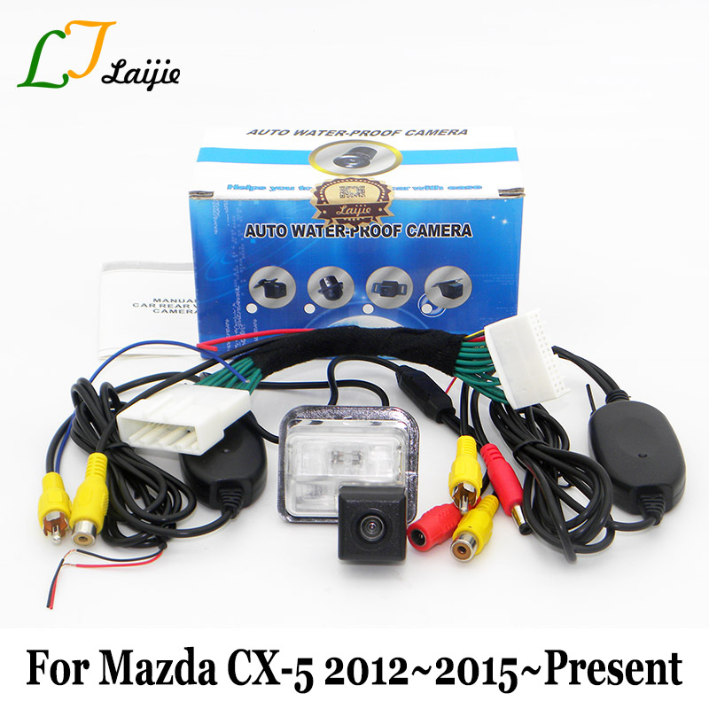 Laijie Car Wireless Rear View Camera For Mazda CX 5 CX 5