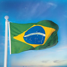 3ftx5ft Brazil Flag 150x90cm national flags Indoor/Outdoor Country-Banner(China)