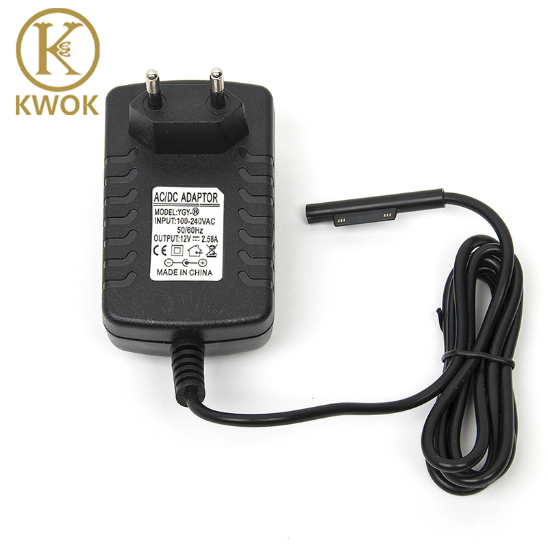 12V 2.58A 30W EU Plug Power Charger Adapter For Microsoft Surface Pro 3 Charger Tablet AC Wall Charger Adapter Tablet Charger
