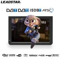 12 inch Portable Digital TV ATSC DVBT2 DVBT ISDB Television with fm function from Leadstar