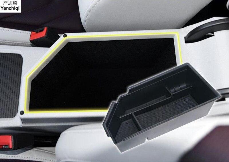 ABS подлокотник центральный ящик для хранения Контейнер перчатка Органайзер чехол автомобильный Стайлинг для 2019 Volkswagen VW JETTA 7 MK7