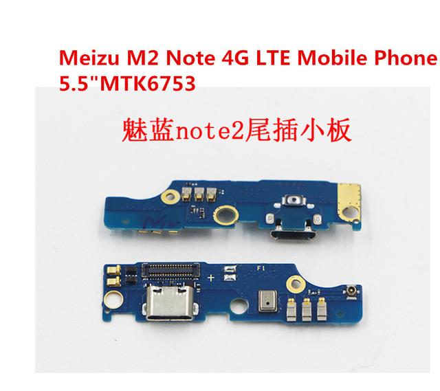 Para Meizu M2 nota de carregamento porto Dock Connector com microfone Micro USB carregador de substituição