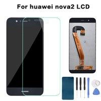 Huawei Nova 2 Plus LCD Display Touch Screen Digitizer Assembly BAC L23 L03 For Huawei Nova 2 LCD Nova2 PIC LX9 L29 L09 Screen