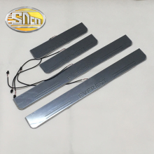 цена на SNCN LED door sill for Ford Everest Led moving door scuff plate welcome pedal accessories