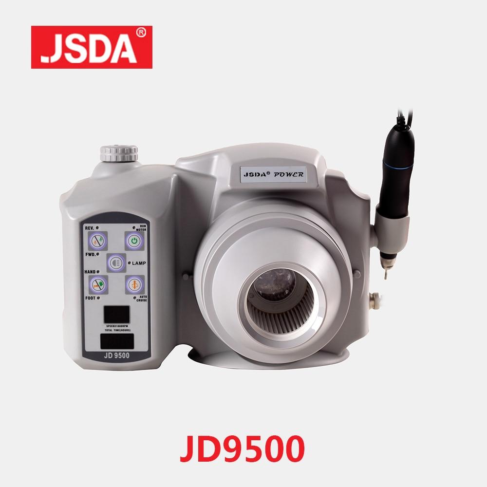 Real JSDA JD9500 Brushless motor Elektrická vrtačka Prach Sbírka - Manikúra