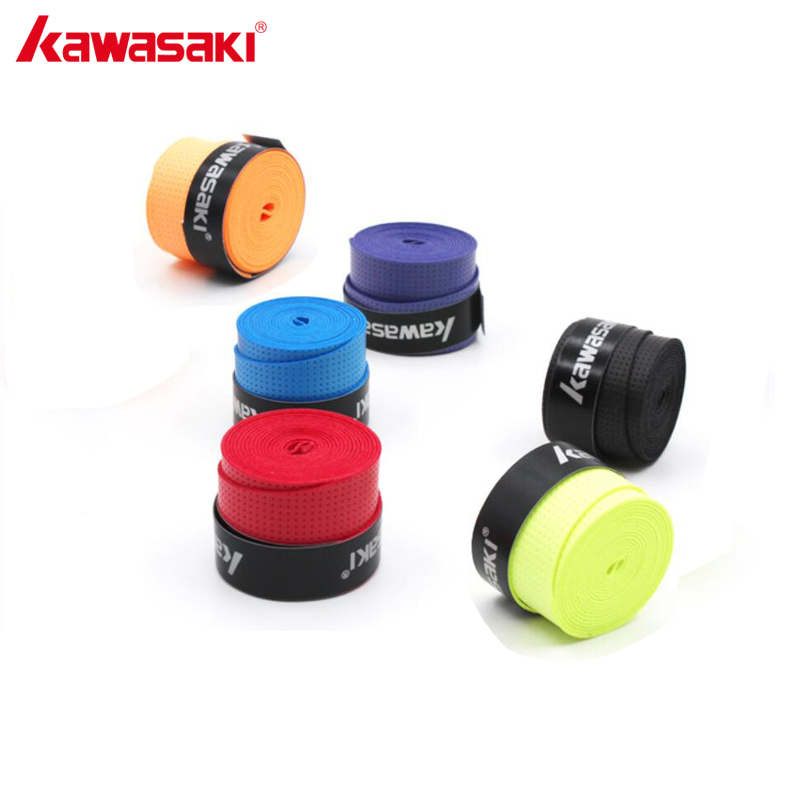 10Pcs/lot KAWASAKI Brand Sweatband X28 Tennis Racket Grip Viscous Anti-slip Breathable Badminton Overgrips Color Send Randomly