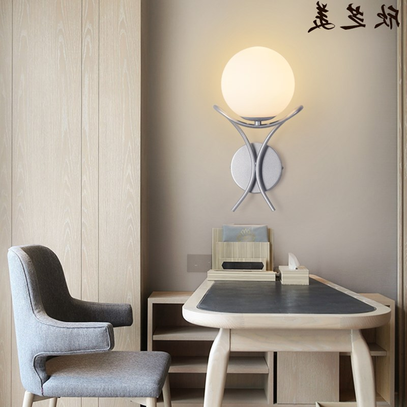 Led modern bedroom wall lamp bedside lamp creative living room balcony wall light double aisle stairs light ZA913541 led modern bedroom wall lamp bedside lamp creative living room balcony wall light double aisle stairs light za913541