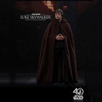 Collectible Full Set Action Figure Hot Toys 1/6 Luke Skywalker Star Wars: Return of the Jedi Black Ver. Figure Toy for Fans Gift