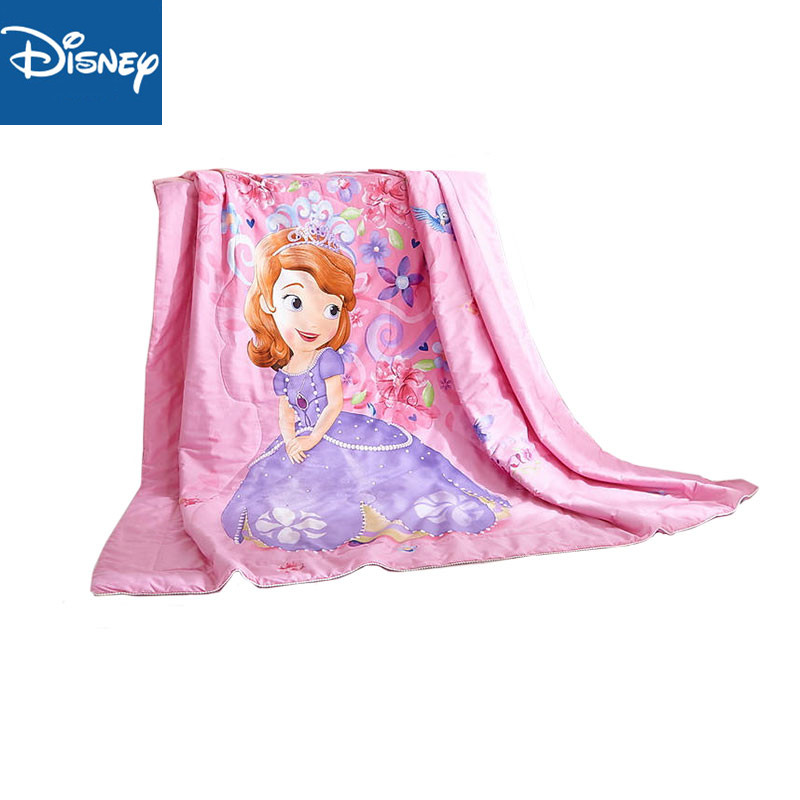 Disney été couette dessin animé Sophia 3D impression maison Textile couverture couette couvre-lit adapté pour les filles enfants adulte livraison gratuite