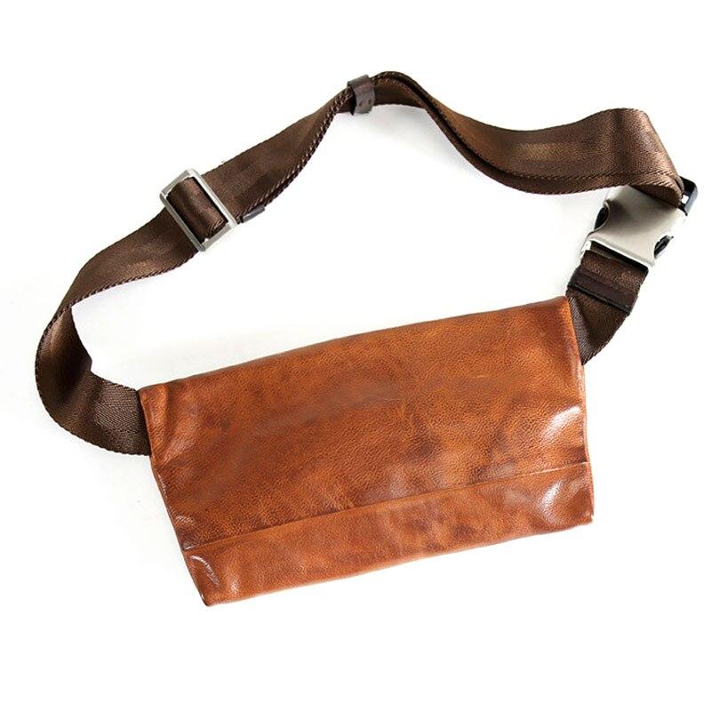 AETOO oryginalny retro handmade zamszowe męskie torba w klatce piersiowej torebka mini dorywczo torba na ramię torba młodzieży fala torba w Saszetki od Bagaże i torby na  Grupa 3