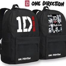 One Direction Группа 1D Bcskpack Аниме Черный Оксфорд Школьный унисекс