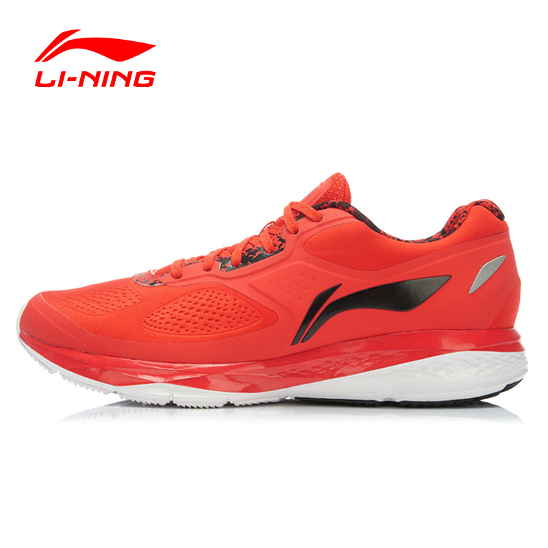 Li-Ning 2016 Running Shoes Men Air Mesh Leather Lace Up 3M Reflective Cushioning Sneakers Men Sport Shoes Li-Ning ARHK007 XYP255