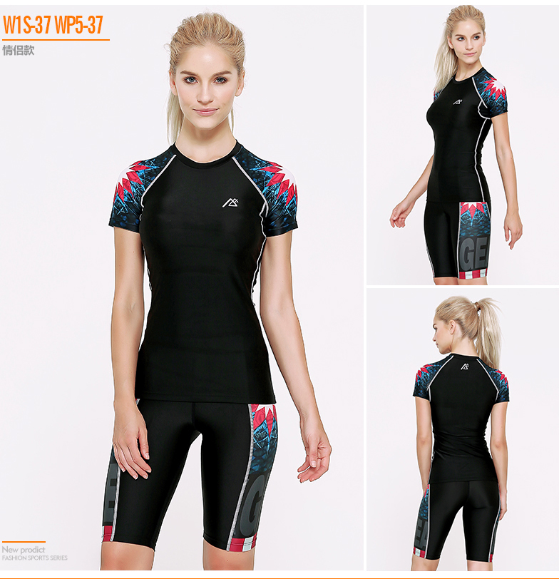 ФОТО 2016 Life on Track Summer Women Skintight Fitness Suits Quick Dry Elastic Sportswear Sets Yoga Dancing Running Girls  Gym Suits