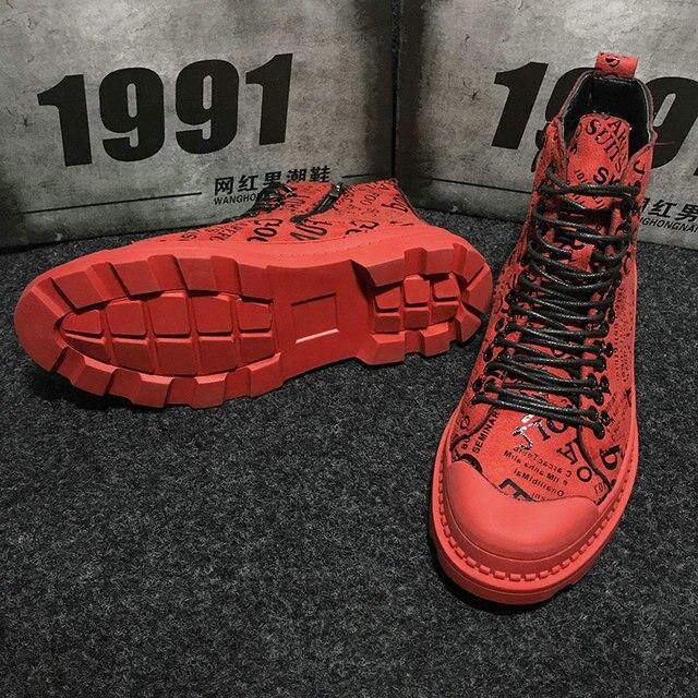 Ankle Fashion Streetwear Boots 8