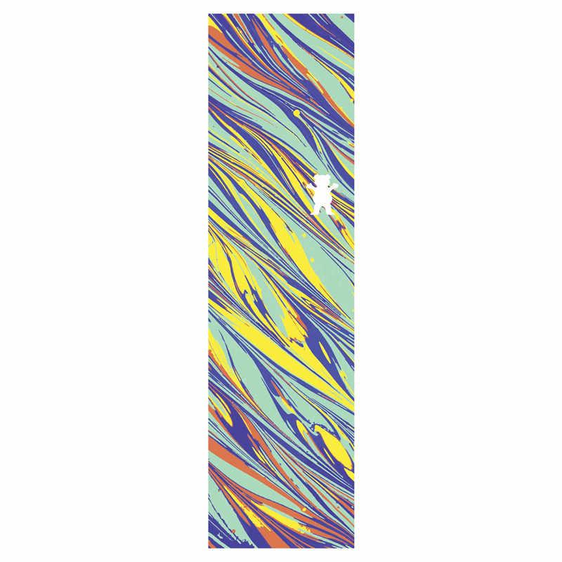 9*33 cali Grizzly Laest design Pro deskorolka Griptapes węglik krzemu Skate taśma ochronna do deskorolki z otwory przepuszczające powietrze skuter papier ścierny