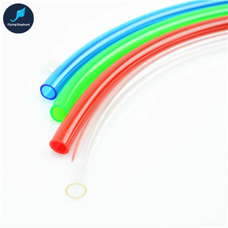 3/8'' Inch Thin HOSE PVC Water Cooling Pipe 9.5mm * 12.7mm Cooling Soft Tubing Blue White Black Red Green Transparent