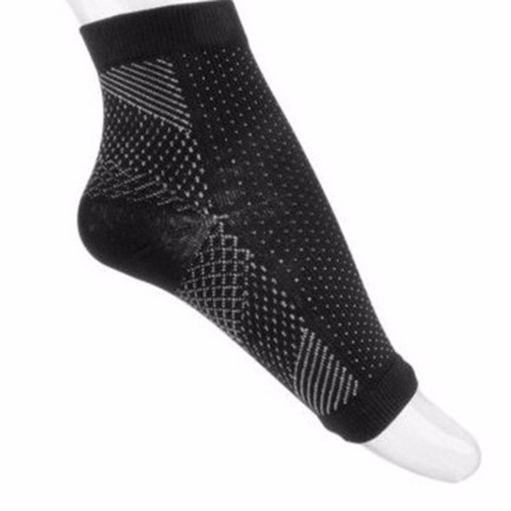 U-Kiss Comfortable Foot Sleeve Anti-fatigue Compression Foot Sleeve Elastic Men Women Socks Pain Relieving Ankle Socks Drop Ship