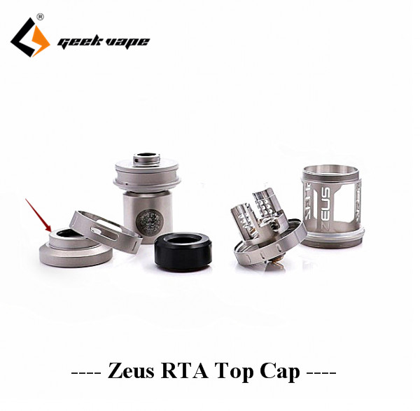 Geekvape zeus RTA top cap drip tip stand replacement e cig accessory for zeus RTA tank fit 510 810 drip tip