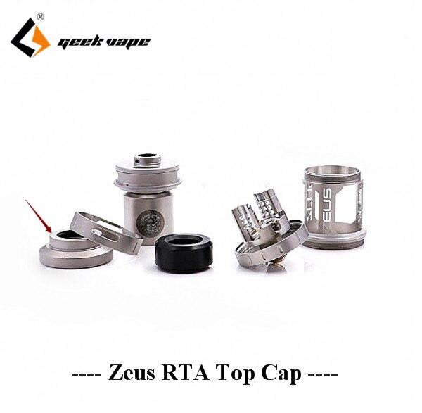 Geekvape zeus RTA top cap goutte à goutte stand conseil remplacement e cig accessoire pour zeus RTA réservoir fit 510 810 goutte à goutte pointe