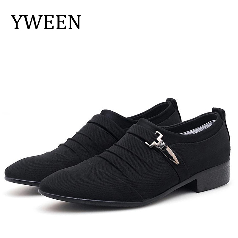 YWEEN Wholesale Men Casual Shoes Breathable Canvas Leisure Comfortable Slip on Big Size